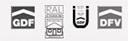 Logo diverser Normen